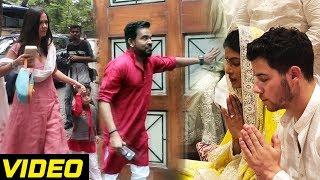 Priyanka Chopra And Nick Jonas Engagement - Outside House Footage