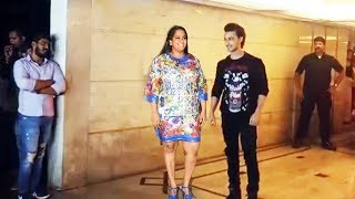 Salman's Sister Arpita Khan & Aayush Sharma Arrives At Priyanka Chopra & Nick's Engagement Party
