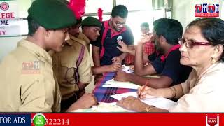 BLOOD DONATION ON OCCASION OF PRAKASH SHRI PRAKASH INSTITUTES 42ND ANNIVERSARY