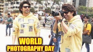Gurmeet Choudhary Celebrate World Photography Day With Media