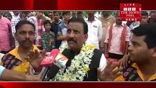 [ Pratapgarh News ] प्रतापगढ़ में गांव वालों को पानी की किल्लत से मिली राहत / THE NEWS INDIA