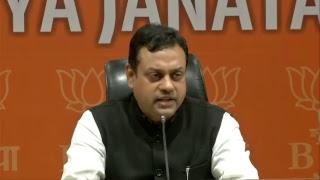 Dr Sambit Patra's press conference on revocation of suspension of Mani Shankar Aiyar from Congress.