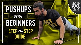How to Do Pushups for Beginners | Perform Push Up Correctly
