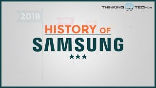 History of Samsung  (1938 To 2018) | ThinkingTech