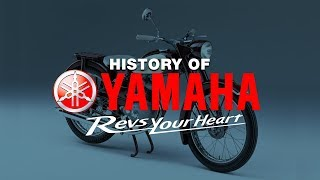 History Of Yamaha | Yamaha 1955 To 2018 | MotorcycleDiaries.in |