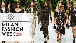 Milan Fashion Week 2017 | Milan Summer Fashion Week 2017 | Style Gods