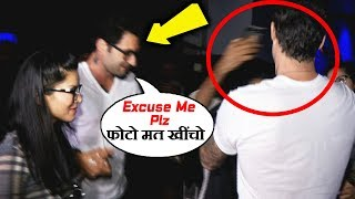 Sunny Leone's Husband Protects Her From Crazy Fans Taking Selfies