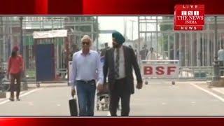 [ Punjab ] नवजोत सिंह सिधु इमरान खान की ताजपोशी के बाद लौटे भारत,दी सफाई  / THE NEWS INDIA