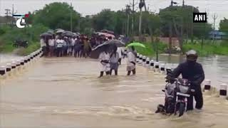 Flood-like situation seen in parts of Andhra Pradesh's Krishna district