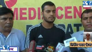 पानीपत के युवा खिलाडी का फ़ुटबाल टीम में हुआ सलेक्शन ,