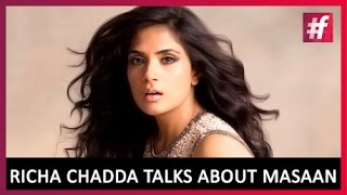 Masaan Movie Actress Richa Chadda Talks About the Film | Live on #fame