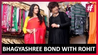 Bhagyashree and Rohit Verma's Bond over Fashion | Live on #fame