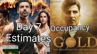Gold Vs Satyameva Jayate Audience Occupancy And Collection Estimates Day 7