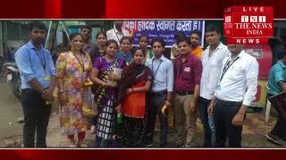 [ Bareilly ] कावड़ियों को फल वितरण करके क्राइम इंफॉर्मेशन ब्यूरो टीम ने किया स्वागत / THE NEWS INDIA