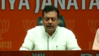 Navjot Sidhu has tried to implicate India by saying Indians have small hearts : Sambit Patra