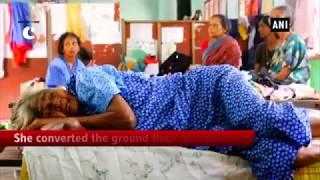 Social worker turns relief camp into mini hospital in North Paravur