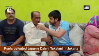 Asian Games 2018: Family of Bajrang Punia celebrates his gold victory