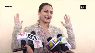 """Star cast of """"Happy Phirr Bhag Jayegi"""" promotes film in Mumbai"""