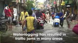 Traffic snarls, houses waterlogged after heavy downpour in Bhopal