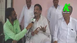 भाजपा नेता द्वारा चौ देवीलाल को  किसानों का मसीहा नहीं बताने पर क्या कहा चौ रणजीत सिंह ने देखें