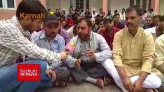 SSA Teachers and Head Teachers Stage Protest At Mini Secretariat Karnah ,Report By Tahir Qadoos