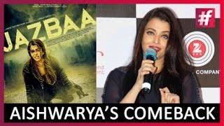 Aishwarya Rai Bachchan At Jazbaa Music Launch