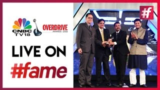 CNBC TV 18 Overdrive Awards | Live On #fame