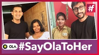 Women's Inspirational video - #SayOlaToHer - Women Drivers Makeover!