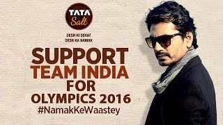 Olympics 2016 at Rio - Nawazuddin's Q&A - Support our Indian Contingent #NamakKeWaastey