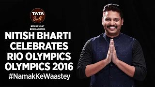 Nitish Bharti Supports Indian Contingent @ Rio Olympics 2016 - #NamakKeWaastey