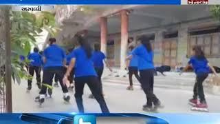 You will amazed how Modasa Student perform Yoga