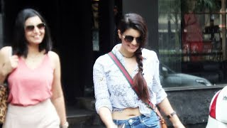 Ihana Dhillon Spotted Outside Tip & Toe Salon In Juhu