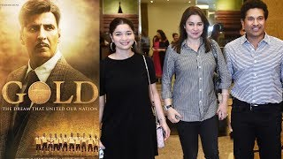 Sachin Tendulkar With Family Watches Akshay Kumar's GOLD On EID | Anjali Tendulkar, Sara Tendulkar