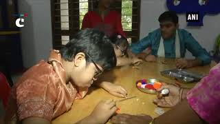 Differently abled children make Rakhis ahead of Rakshabandhan in Surat