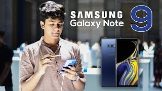 Samsung Galaxy Note 9 Physical Overview + Specifications [IN HINDI]