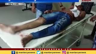 cruel attack on youngman in Ahmedabad