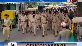 police  petrolling for Rathyatra in Ahmedabad