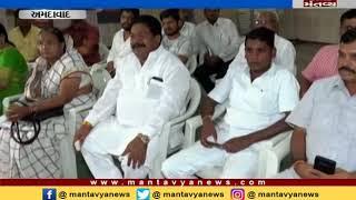 Rajiv Satva from congress visited Gujrat