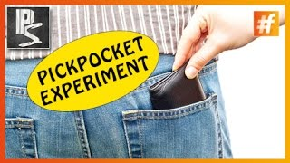 Pickpocket Experiment | Girl vs Guy