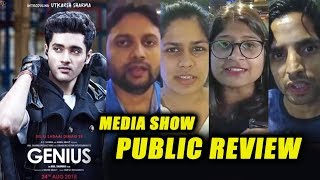 GENIUS Movie PUBLIC REVIEW | FIRST SHOW | Utkarsh Sharma, Ishita Chauhan