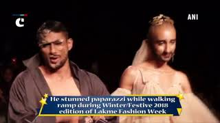 Lakme Fashion Week: Prateik Babbar goes berserk on ramp