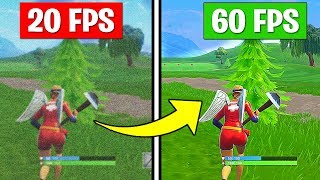 How to Get MORE FPS on Fortnite Season 6 - Increase