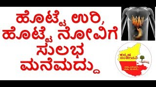 Home Remedies for Stomach Burning | Stomach Pain | Acidity Gas problem | Kannada Sanjeevani