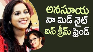 Anchor Rashmi about her friendship with Anasuya | Rashmi Gautam Interview | Top Telugu TV