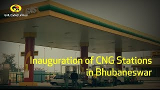 Inauguration of CNG Stations in Bhubaneswar