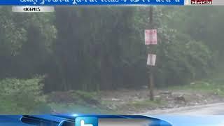heavy rain in Valsad