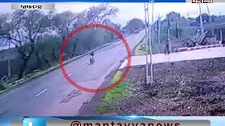 terrific accident in Jamnagar