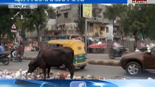 Ahmedabad is not properly clean due to strike of sweeper
