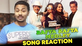 Rafta Rafta Medley SONG | REVIEW | REACTION | Yamla Pagla Deewana Phir Se | Salman Khan, Dharmendra