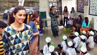 Daisy Shah Celebrate Her Birthday With Underprivileged Children